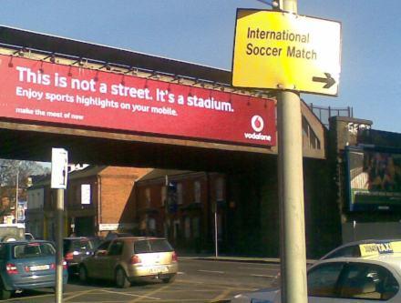 Football Signs Drumcondra